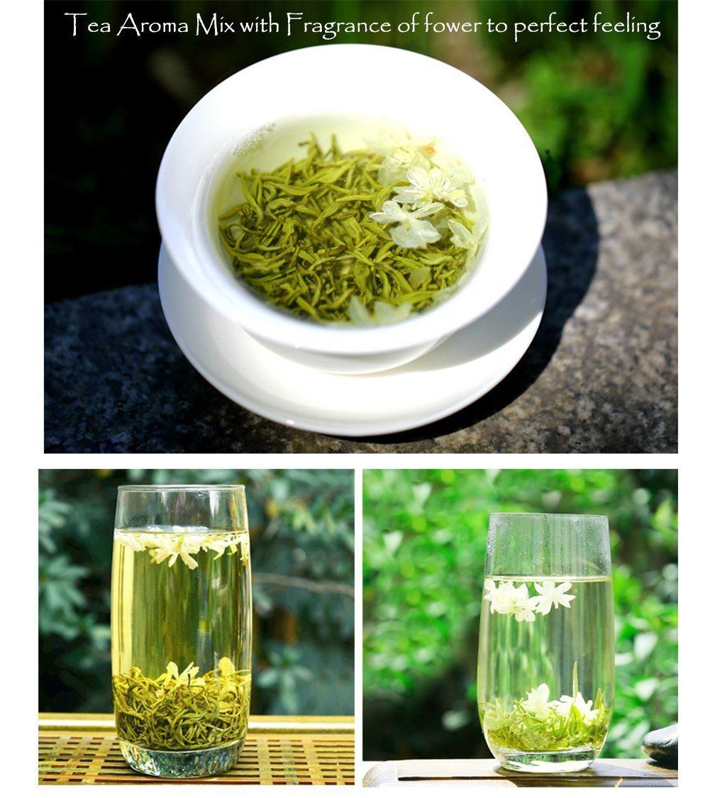 USDA Jasmine Green Tea Organic Loose Leaf Benefits Green