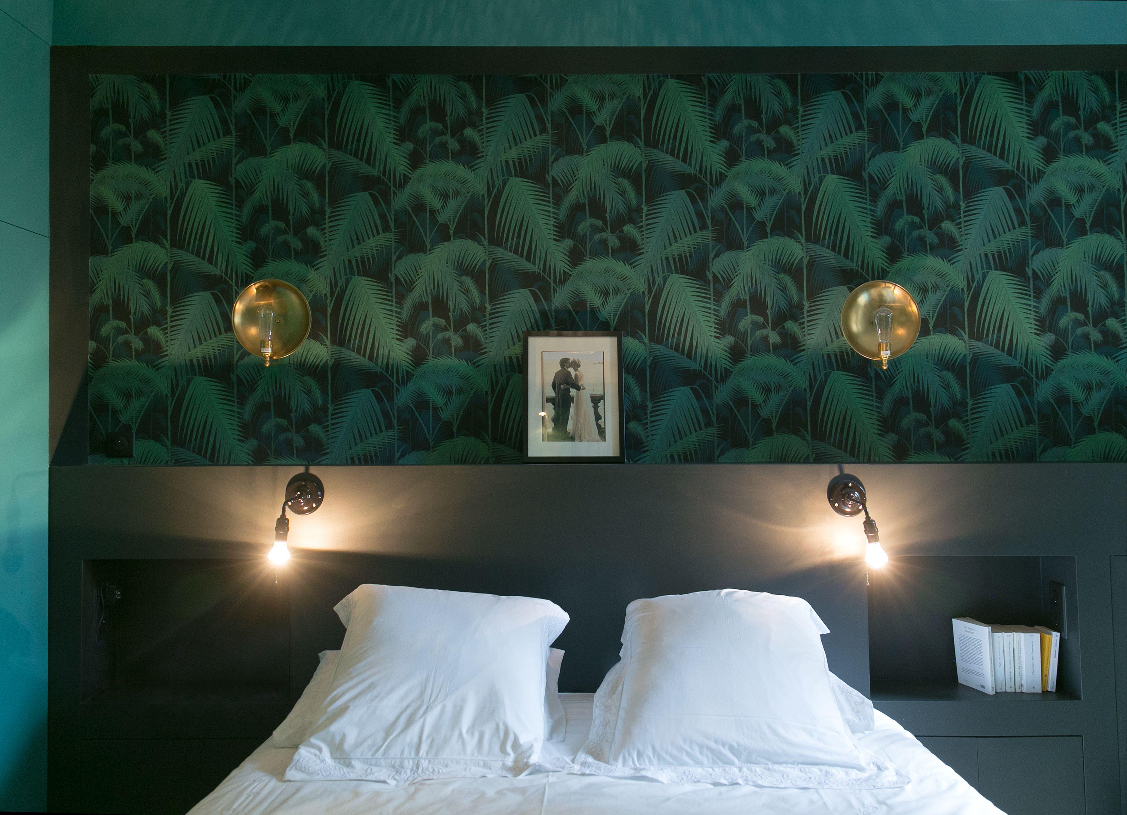 Papier Peint Pour Chambre chambre à coucher appartement parisien de 130m2- gcg