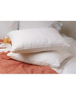 Luxury Soft Goose Down Standard-Size Pillows (Set of 2) | Overstock.com Shopping - The Best Deals on Down Pillows