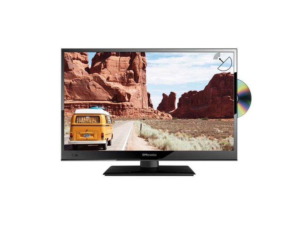Emtronics 16 Inch Full Hd 1080p 12v Tv With Dvd Player And Freesat Dvd Player Digital Tv Tv Aerials