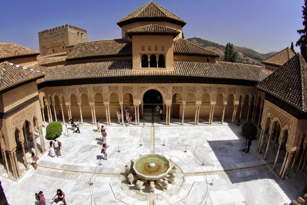 Resultado de imagen de palacio de los leones alhambra
