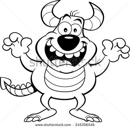 Monster Stockillustraties & cartoons   Shutterstock