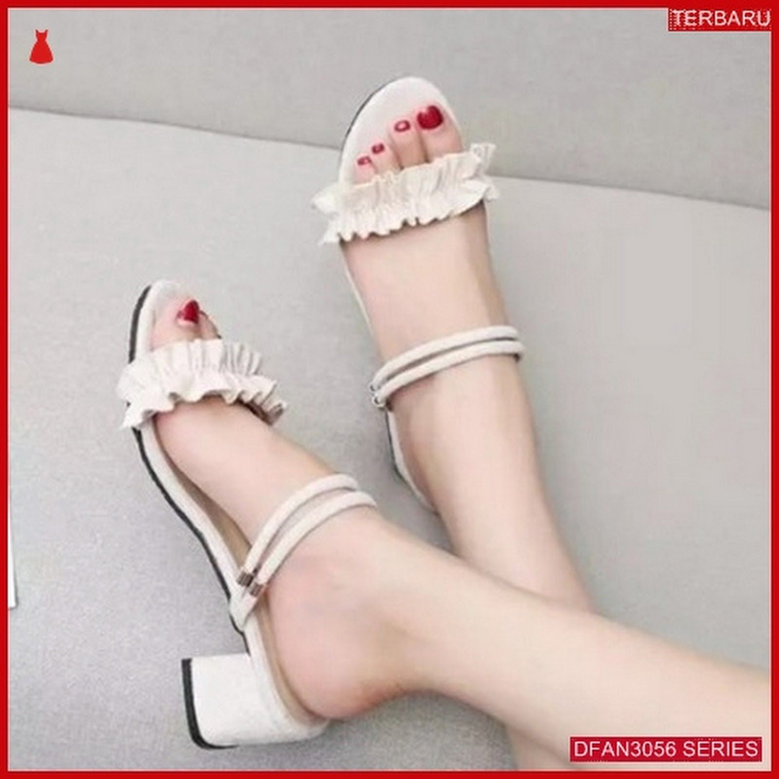 Dfan3056s28 Sepatu Sd01 Hak Tahu Wanita Sepatu Hak Fashion
