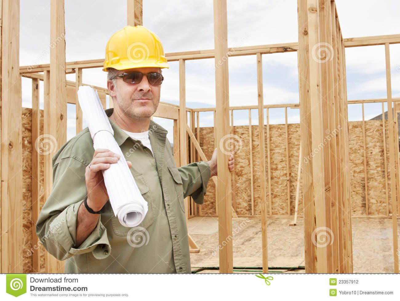 Construction Workers Building A House  Handsome Construction