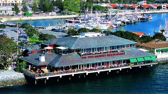 Fish Market Restaurant San Diego San Jacinto Mountains San