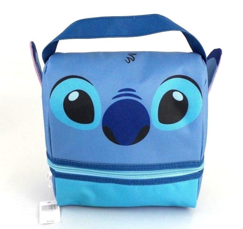 73733eb229f Authentic Disney Parks Lilo and Stitch Lunch Bag Insulated School Snack Bag   Disney  LunchBag