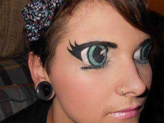Kalamityjane Random Anime Eye Anime Eye Makeup Eye Makeup Tutorial Eye Makeup Images