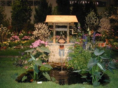 Tranquility - Fairmount Park Commission - 2002 Philadelphia Flower Show Photo Gallery