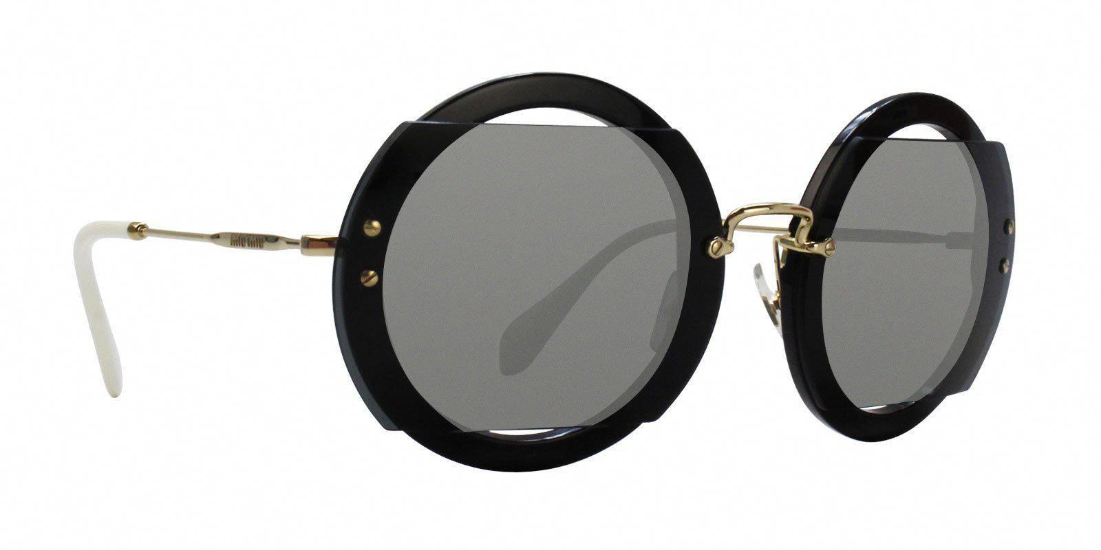 5d1612596f8 Miu Miu - MU06SS Black - Gray sunglasses