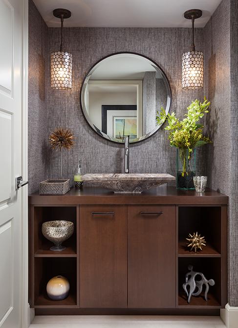 Cloakroom vanity