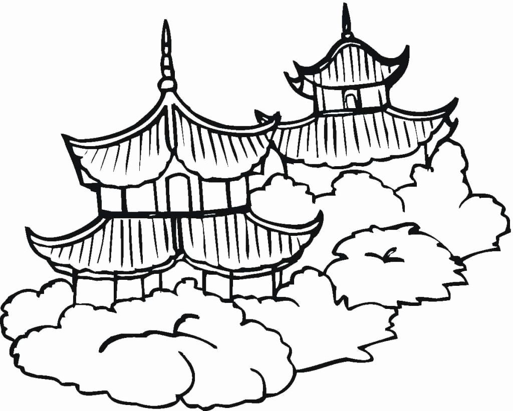 Chinese Flag Coloring Page New Chinese Flag Drawing At Getdrawings