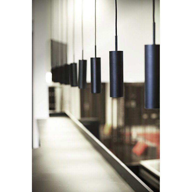 Suspension Gu10 Design Mib 6 Metal Noir 1 X 35 W Idees Pour La Maison Applique Decoration Maison