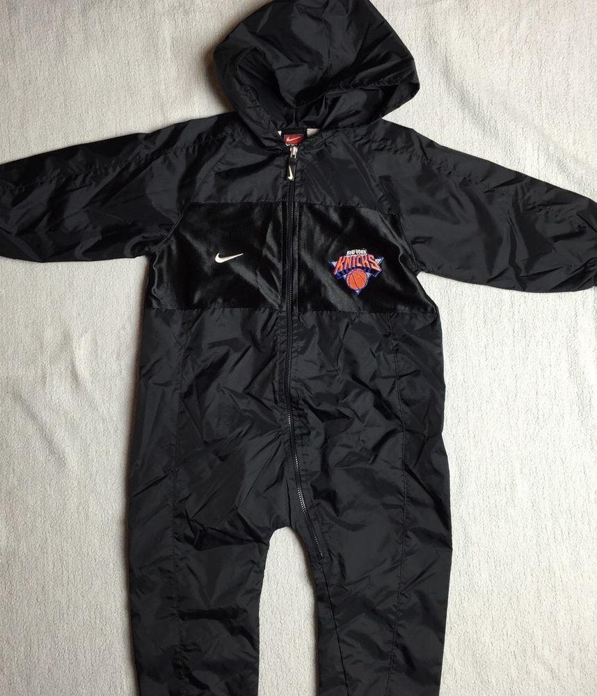 0d9e881c2a8c Nike Toddler Infant Boys New York Knicks NBA Windbreaker Suit Size ...