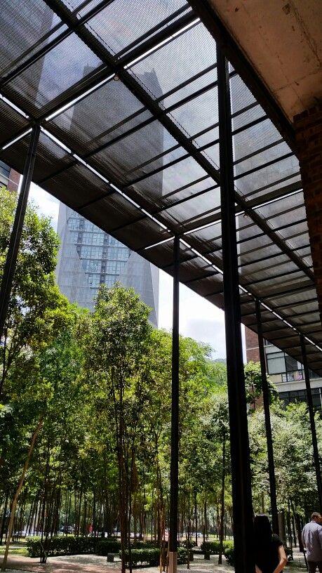 Corridor Roof Industrial Architecture Corridor Outdoor