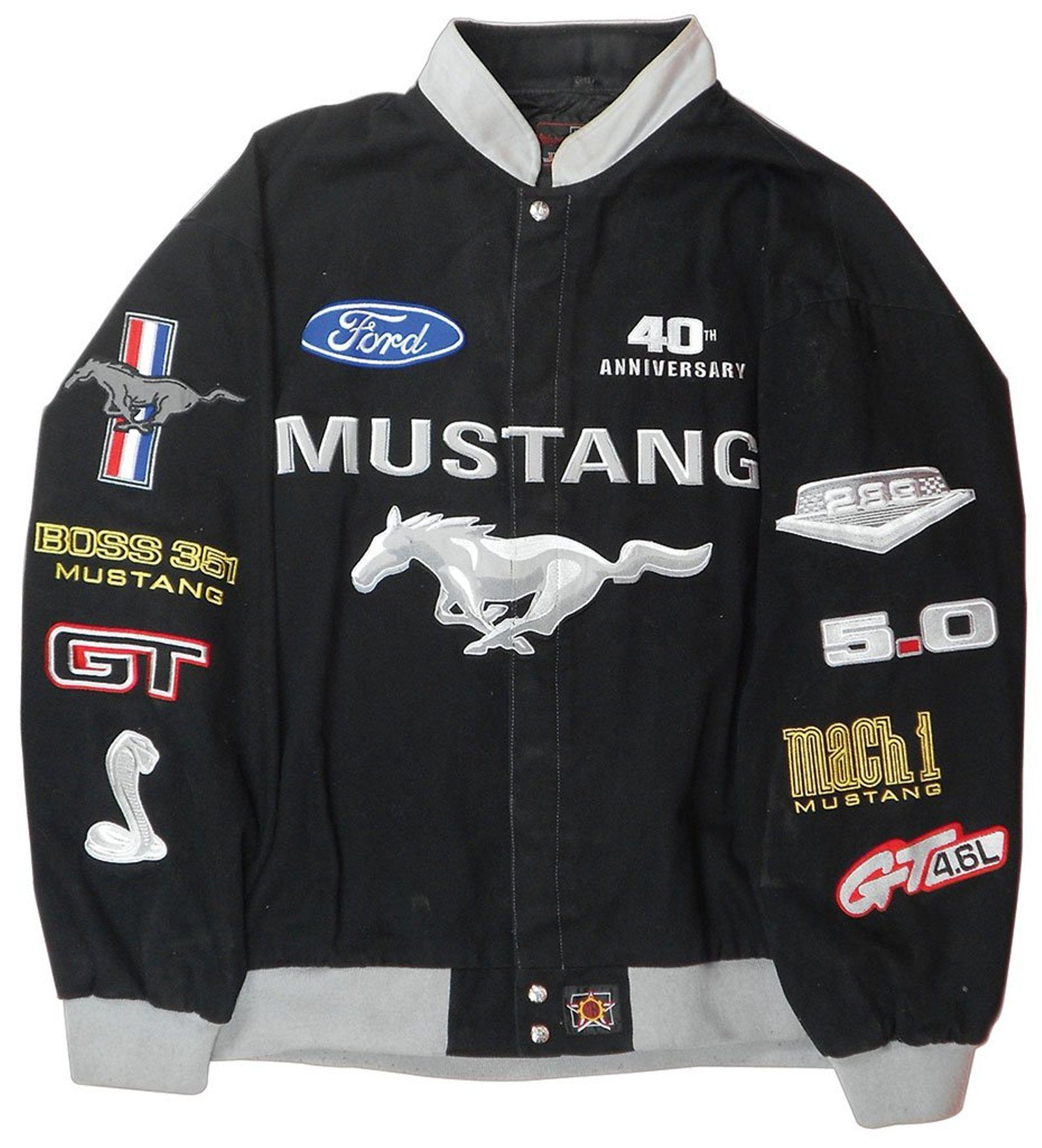 Ford Mustang 40th Anniversary Jacket Made By Jh May 31 2015