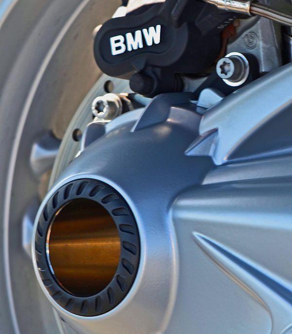 b m w motorcycle rear wheel detail - card: $6.99. #bmw