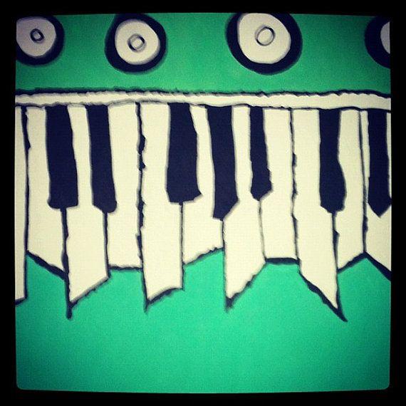 my version of cursives the ugly organ by BeansAndJeremy on Etsy, $35.00