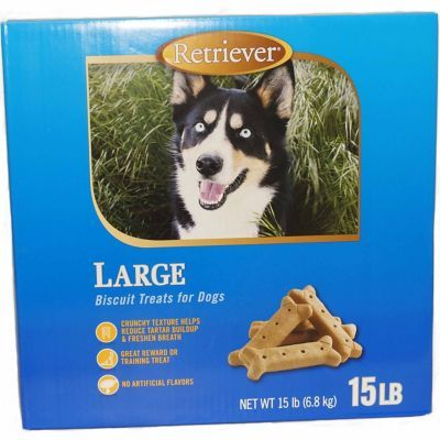 Find Retriever Large Plain Dog Biscuits 15 Lb In The Dog Food