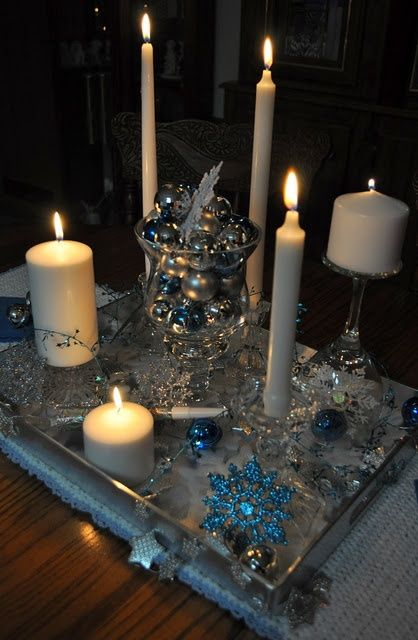 New Year's Eve Table Centerpiece #Christmas #thanksgiving #Holiday #quote