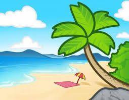 Hasil Gambar Untuk Gambar Pemandangan Pantai Yang Mudah Ditiru
