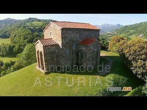 Santa Cristina de Lena (Prerrománico astur)   videos desde otro punto de vista