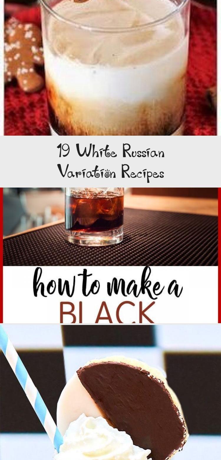 Photo of 19 White Russian Variation Recipes – Yummy Recipes