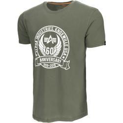 Alpha Industries Anniversary T-Shirt Grün 3xl Alpha Industries Inc.