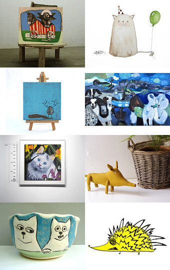 pets  in topform by Sonja Zeltner-Mueller on Etsy--Pinned with TreasuryPin.com