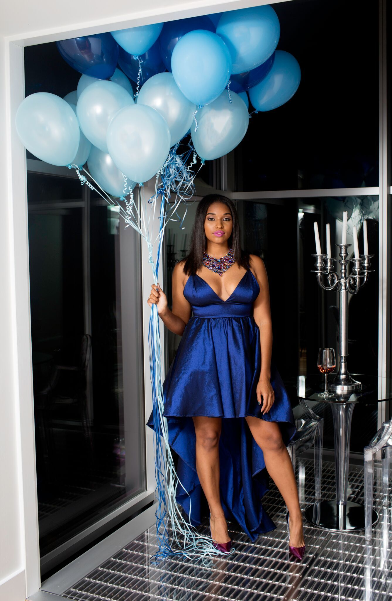 Birthday Outfits 30th Birthday Outfits Birthday Dresses Birthday Photoshoot Blue Gown Hi Lo Gown Birthday Photoshoot 30th Birthday Outfit Birthday Outfit [ 2048 x 1337 Pixel ]
