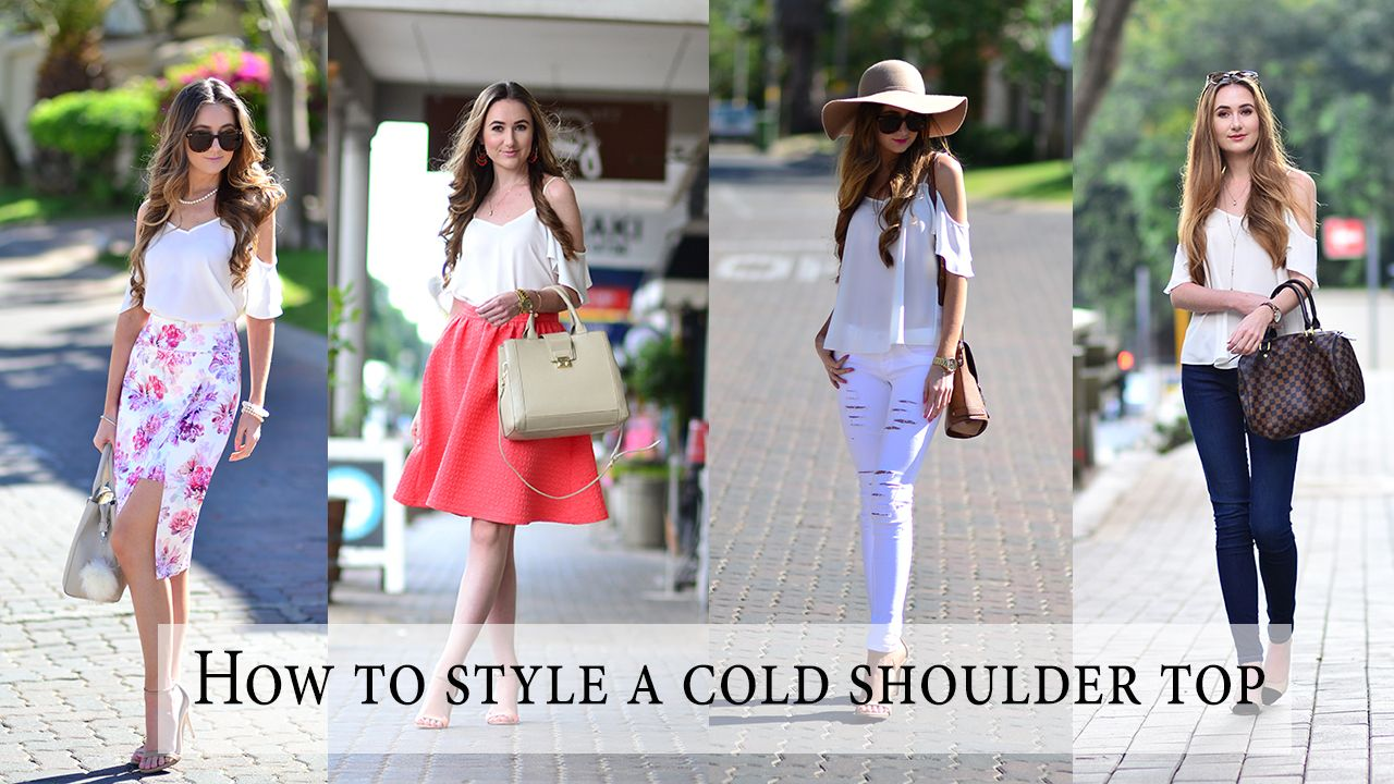 f0b8fbee9d66 One of my favourite trends of the season most definitely has to be this  cold shoulder top trend. You ve probably already noticed that I ve been  wearing it ...