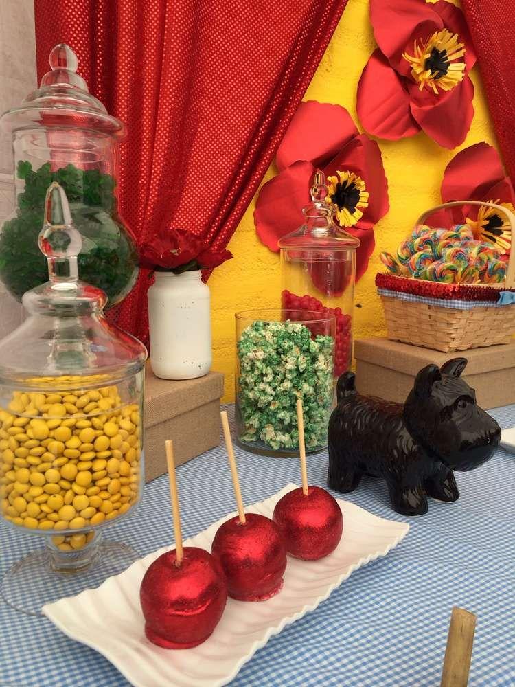 Photo of Wizard of Oz Geburtstagsfeier Essen! Weitere Ideen zur Partyplanung finden Sie bei CatchMyParty ….