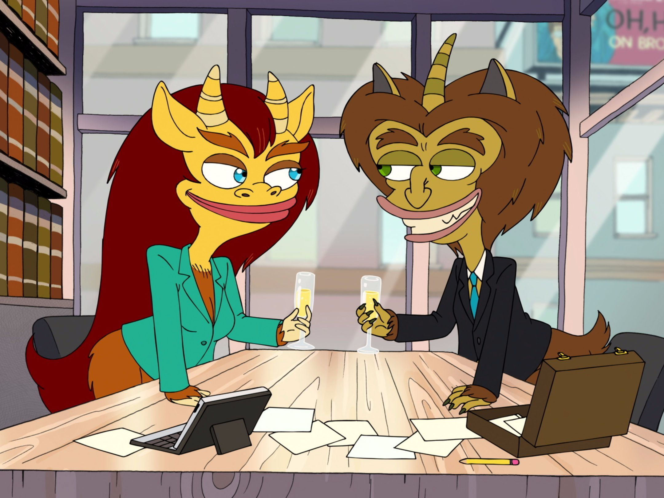 Netflix Big Mouth Creator Shares Which Puberty Stories Were Real Big Mouth Cartoon Mouth