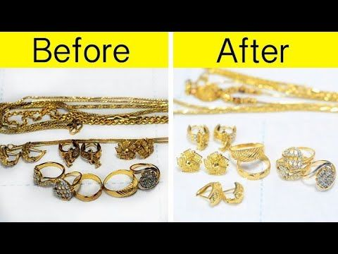 How to Clean Gold Jewellery at Home?   Polish and Clean ...
