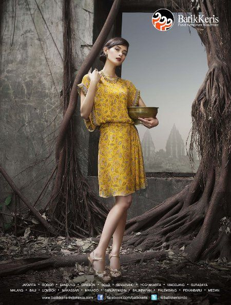 Model Baju Batik Keris Wanita Terbaru  d128bf274c