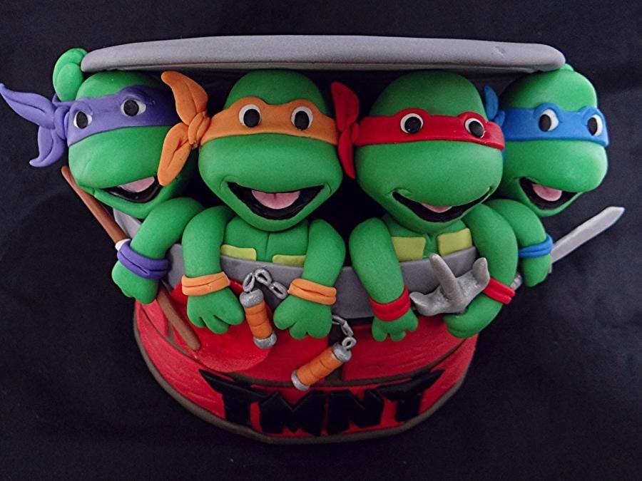 Teenage Mutant Ninja Turtle Cake Topper Ninja Turtle Cake Topper Ninja Turtle Cake Teenage Mutant Ninja Turtle Cake