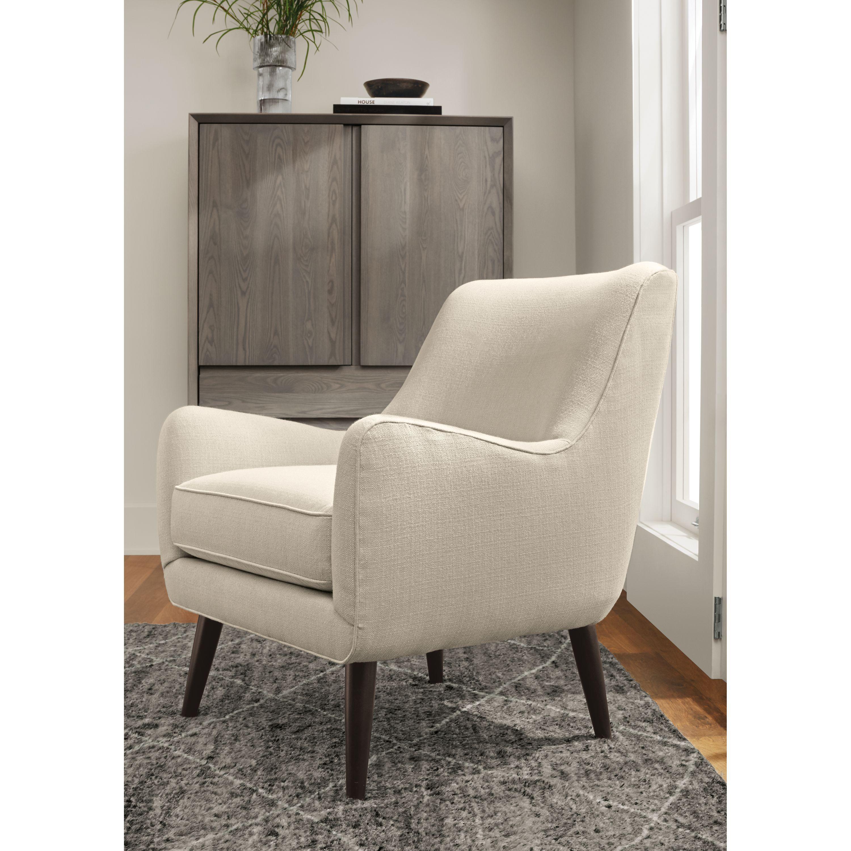Quinn Chair Amp Ottoman Modern Accent Amp Lounge Chairs