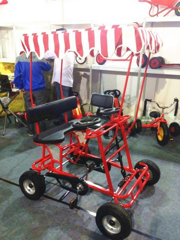 alibaba china wholesale used quadricycle surrey bike for