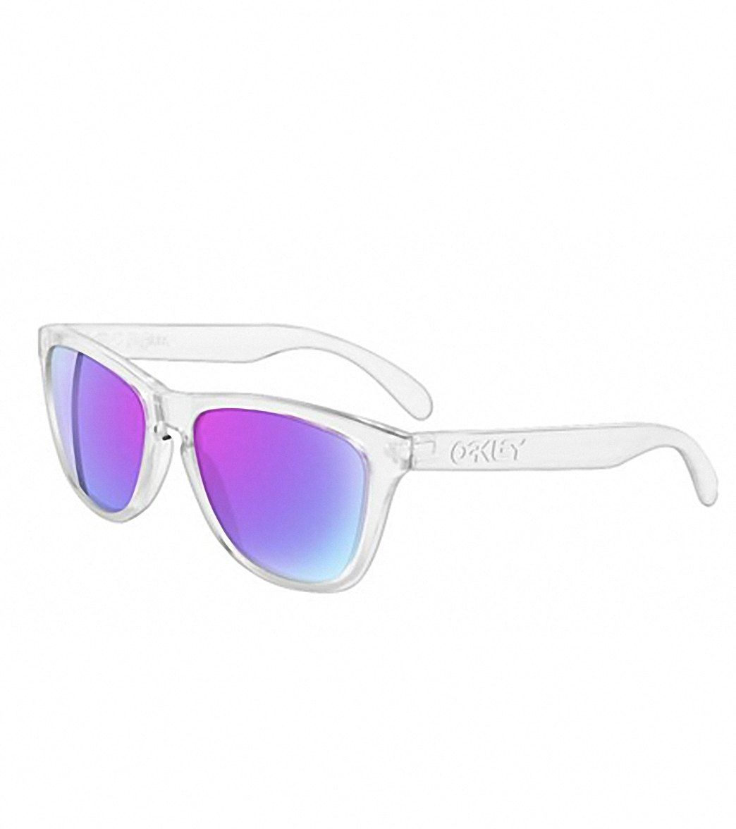 dc128b04f9 Oakley Frogskins Iridium Sunglasses at SwimOutlet.com - Free Shipping