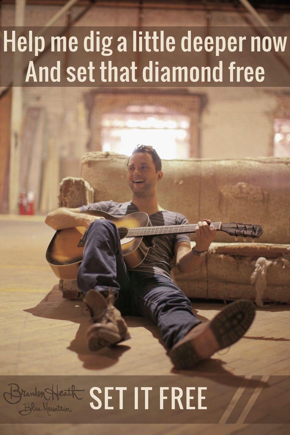 """Help me dig a little deeper now and set that DIAMOND free"" #BlueMountain  -Team B"