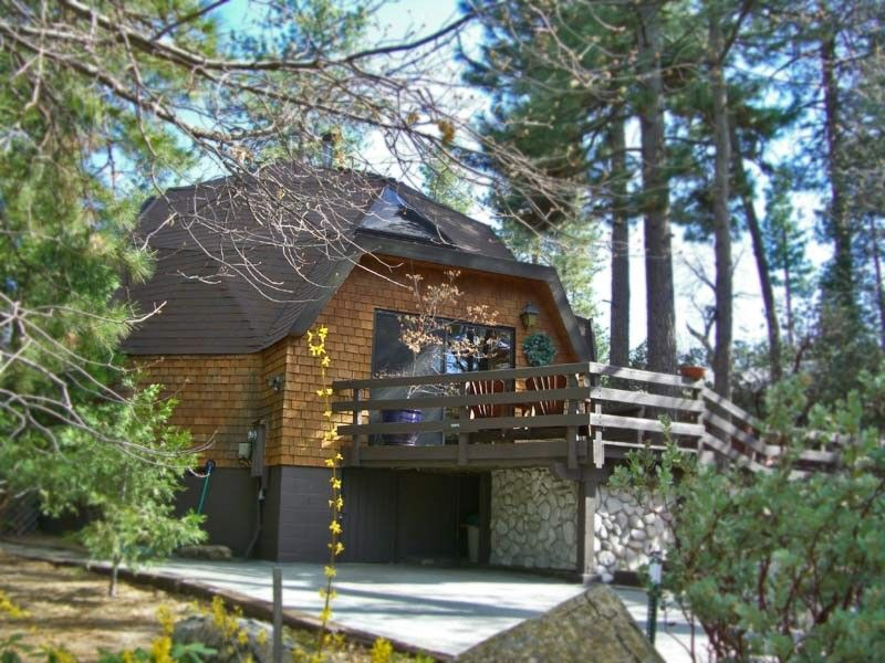 Idyllwild Vacation Rentals Cabins Woodland Park Manor Dome House Glamping California Geodesic Dome Homes