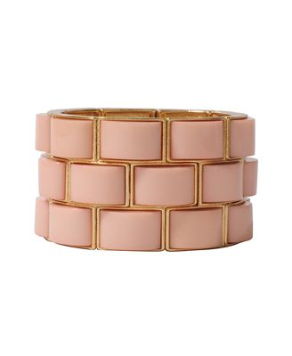 Curved Stretchy Bracelet | FOREVER21