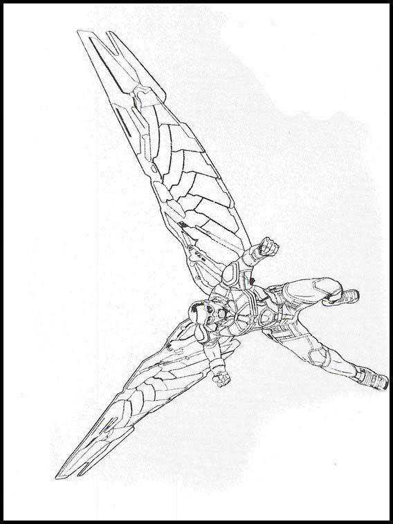 Avengers: Endgame Coloring 37 | Desenhos da marvel, Desenhos