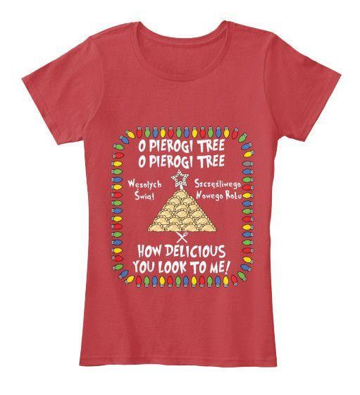 Pierogi Tree Women's Premium Tee