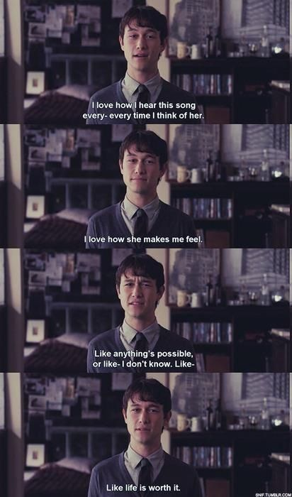 500 Days Of Summer Dialogue Pinterest Filme Pão De Ló E