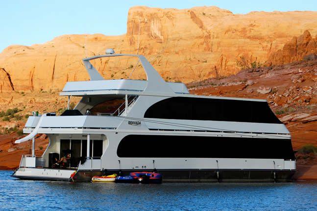 Luxury Houseboats On Lake Powell Lake Powell Houseboats
