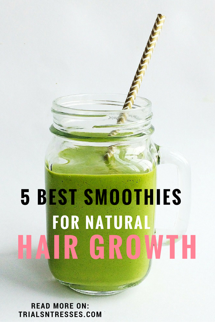 best smoothies for natural hair growth                                                                                                                                                                                 More #HairGrowth