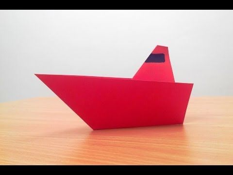 How To Make A Origami Paper Boat Step By Step Origami Pinterest