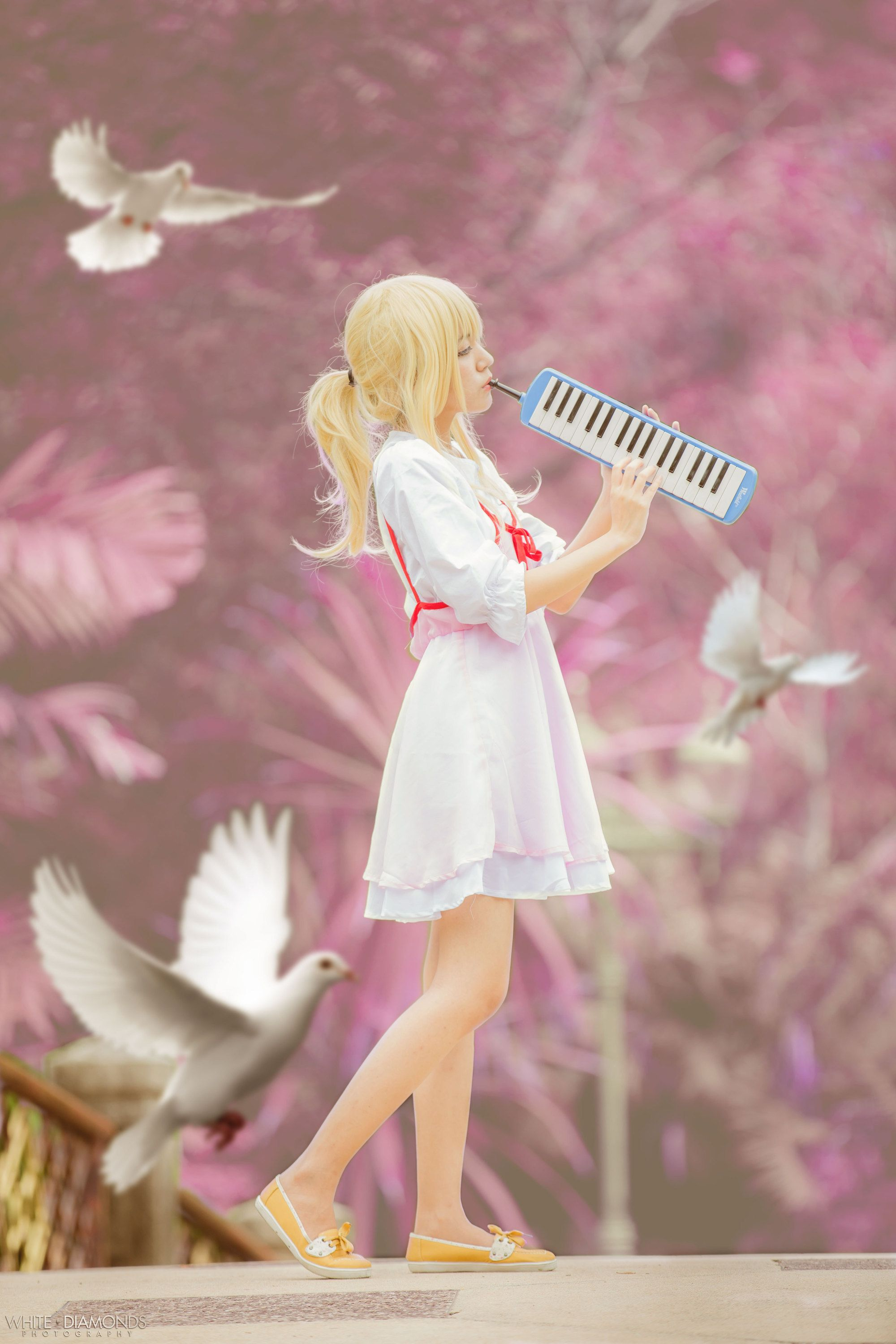 April In Your Lie Kaori Cosplay
