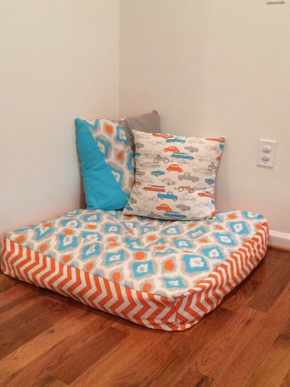 These floor pillows are 3 ft squares and are perfect for all ages to ...