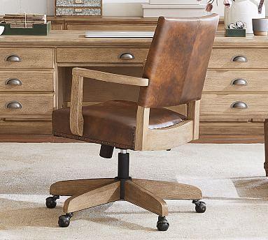 Best Manchester Leather Swivel Desk Chair In 2020 Swivel 400 x 300